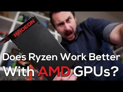 Does Ryzen Work Better With AMD GPUs? [Part 1]