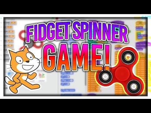 Advanced Scratch Tutorial: FIDGET SPINNER Game!