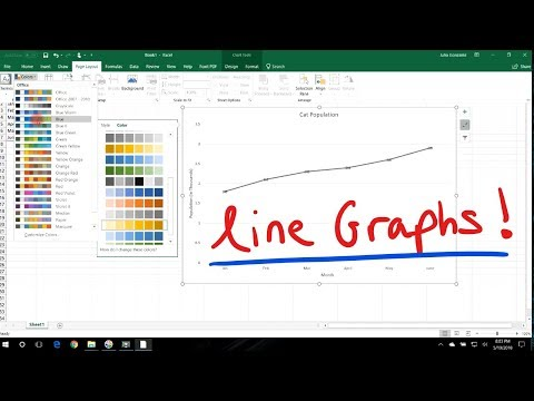 How To Make a Line Graph In Excel - The Simple Way!