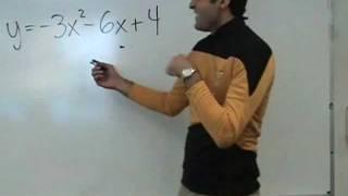 Algebra Quadratic Functions Parabolas