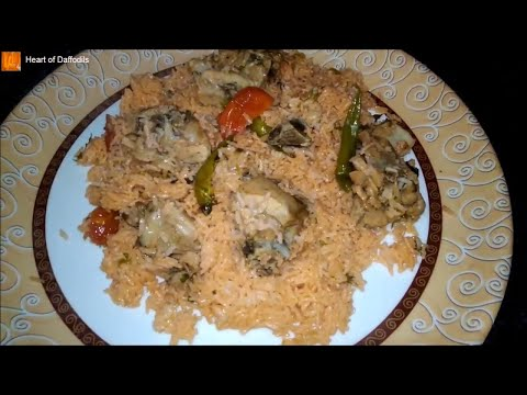 Muslim Chicken Biryani in Pressure Cooker