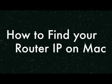 HOW TO - Find your Default Gateway/Router IP on MAC in 10 SECONDS