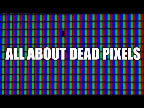 Dead, Stuck, and Hot Pixels   Display Defects