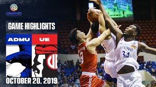 ADMU Vs UE October 20 2019 Game Highlights UAAP 82 MB