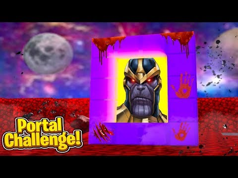THANOS.EXE IS HERE! (Portal Challenge)