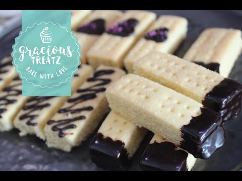 3-Ingredients Classic Shortbread Recipe