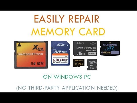 Repair Memory Card on Windows PC: Hassle Free