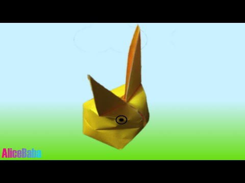 How to make Origami : Bunny 2