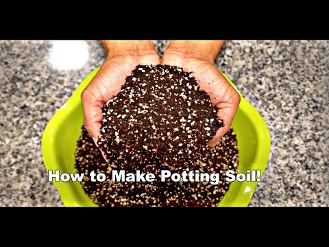 How to Make Potting Soil!