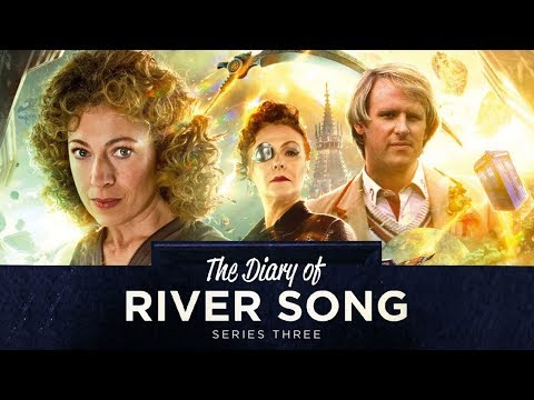River Song Meets The Fifth Doctor | The Diary of River Song: Series 3 Trailer | Doctor Who
