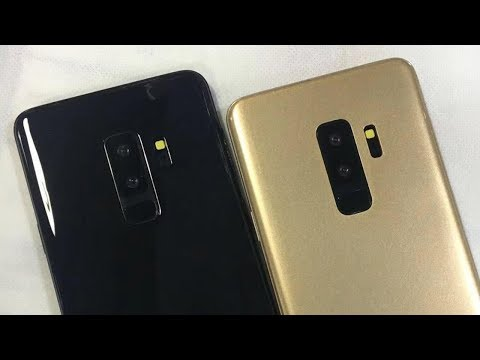 Galaxy S9 & S9 Plus Live Images Leaked! + Price & Top Features