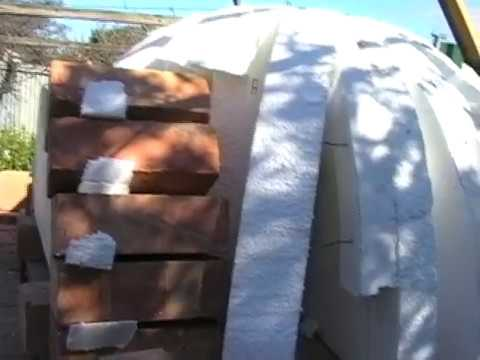 Trev's Clay brick oven- part 2 of 3 - The Dome