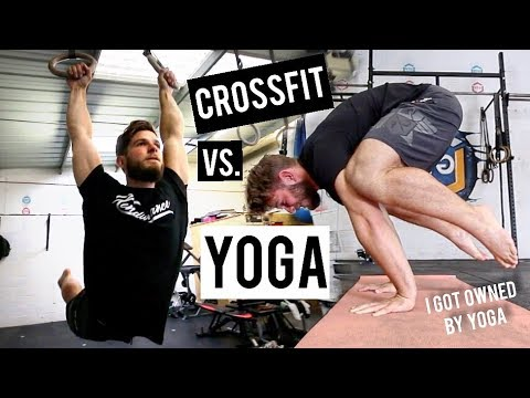 CROSSFIT meets YOGA | My First time doing YOGA Challenge