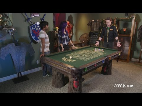 Pool Table Fit for Legend of Zelda™! - Super-Fan Builds