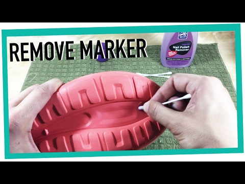 HOW TO REMOVE MARKER FROM ROSS FINDS SHOE BOTTOMS!