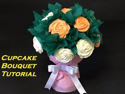 How to make a edible cupcake bouquet