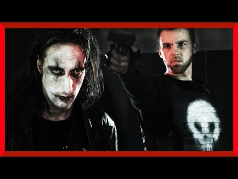 The Crow vs The Punisher | Live Action Fight