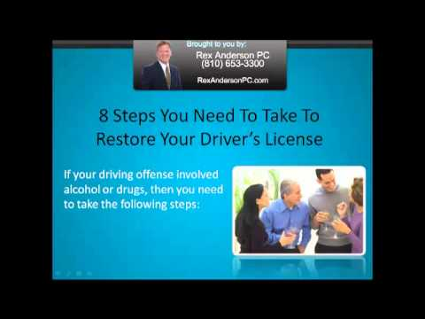 Lapeer Michigan Drivers License Restoration