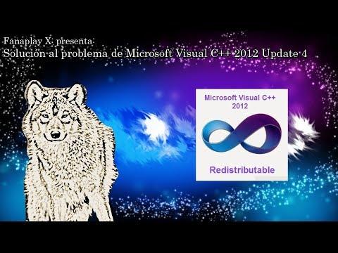 Tutorial: Solución al problema de Microsoft Visual C++ 2012 Update 4 Redistributable Package