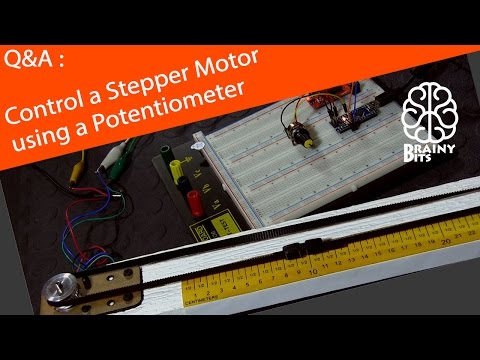 How to Control a Stepper Motor with an Arduino using a Potentiometer? - Tutorial