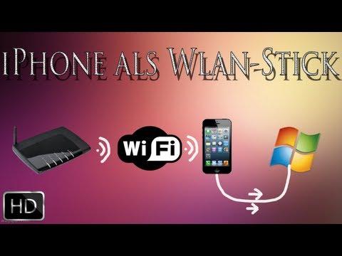 iPhone als Wlan-Stick nutzen (iOS/Windows) [Deutsch/Full-HD]