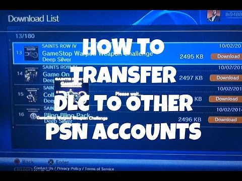 How To Transfer DLC, Games, Videos To Multiple Accounts On Your PS3