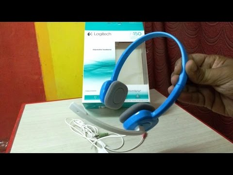 Unboxing & Testing Logitech H150 Budget Headset for Voice Chat & Voice Record