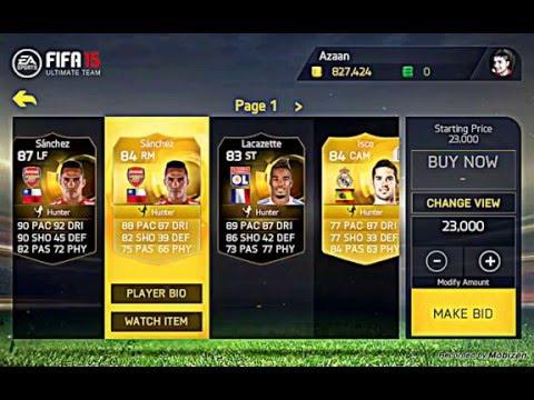 FIFA 15 ANDROID/ IOS TRADING METHOD MAKE MILLIONS