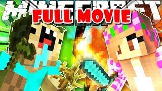 SUPER NOOB vs GIRL (Minecraft Mini Movie)