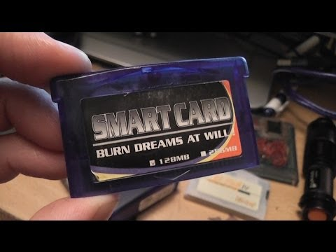 GBA Smart Card - Antique Flashcart - Searching For Long Lost Softwares - Help!