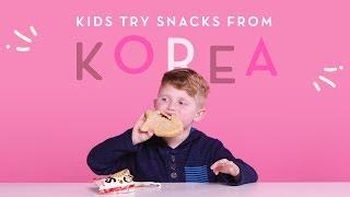 Download Korean Snacks | Kids Try | HiHo Kids Video