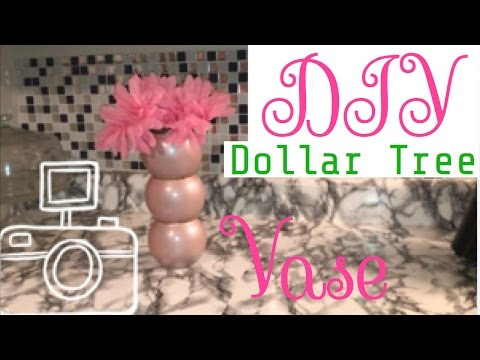 DIY DOLLAR TREE CENTERPIECE