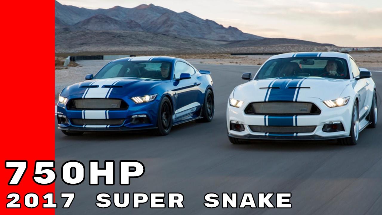 750HP 2017 Super Snake Mustang 50th Anniversary