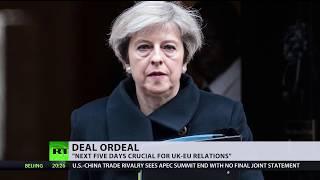 EU asks UK to stick to divorce deal despite growing opposition at home