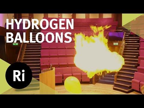 Exploding Hydrogen Balloons