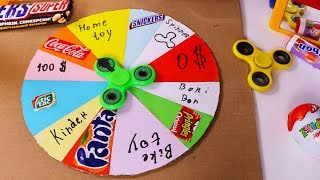 How To Make a PRIZE WHEEL - Cardboard diy prize wheel