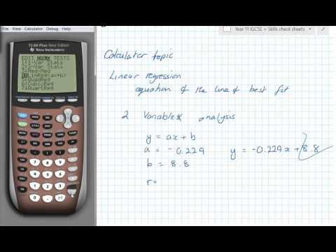 Using a calculator topics