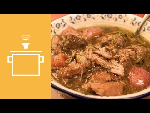 Silently Cooking - Guinness Pork Stew