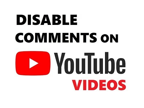 How To Disable Comments On YouTube Videos | Turn Off Comment Section