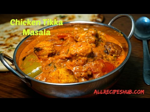 chicken tikka masala | how to make chicken tikka masala | chicken tikka gravy