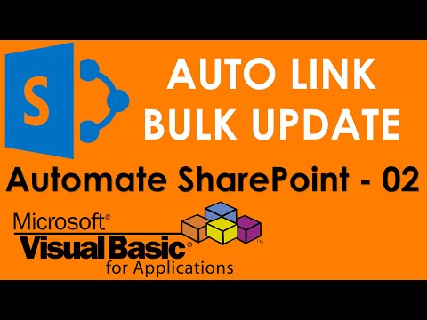 S01E02-VBA to link SharePoint in Edit Mode and  do Bulk Write back and more