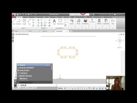 AutoCAD Tip - Scale Objects with a Reference (Lynn Allen/Cadalyst Magazine)