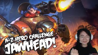 A-Z Hero Challenge | Jawhead until I Win in Rank!