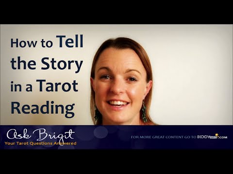 Ask Brigit: How to Tell the Story in a Tarot Reading