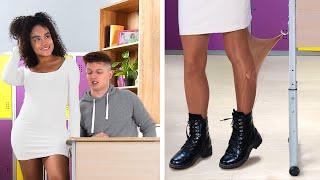 ¡22 Momentos Incómodos En La Escuela! / Momentos Graciosos y Embarazosos