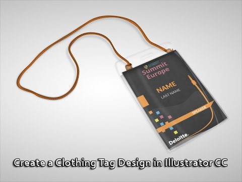 Create a Clothing Tag in Illustrator CC