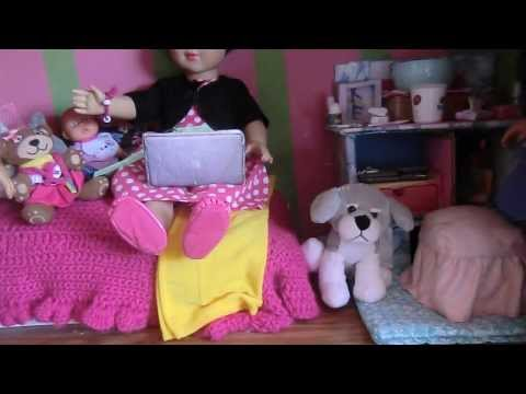 My American Girl  Doll : Tour of the Master Bedroom :)