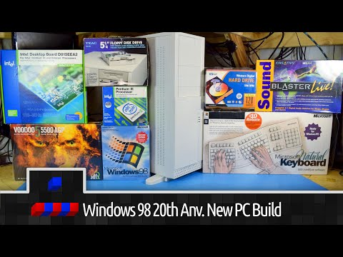 Windows 98 20th Anniversary All New PC Build