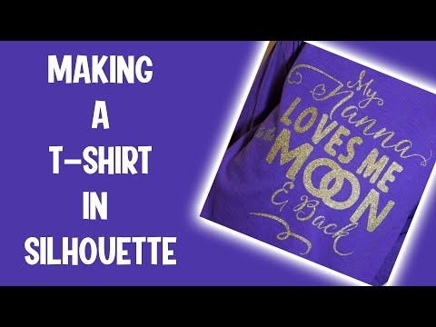 How to make a T Shirt in Silhouette