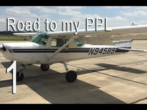 Road to my Private Pilot License - #1 Kickin' it off